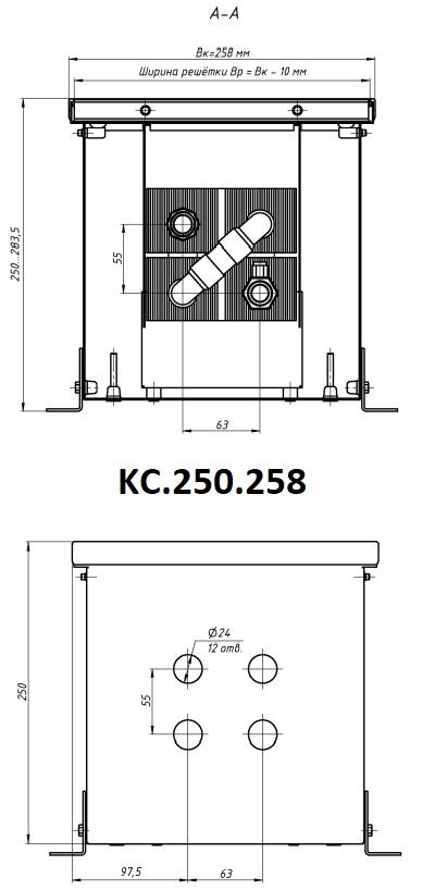 Модель Eva KC.250.258